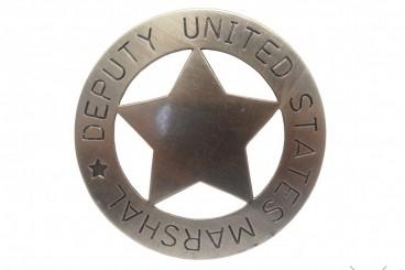 Stellvertretender US-Marschall Abzeichen