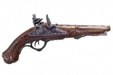 Pistole Napoleon mit 2 Läufen, Frankreich 1806