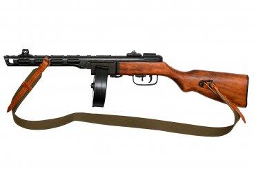 PPSh-41 Maschinenpistole, Soviet Union 1941, aus dem 2. Weltkrieg.