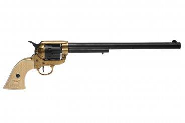 """Cal.45 Peacemaker Revolver 12 """", USA 1873"""