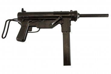 """M3 Maschinenpistole Kal. .45 """"Fettpresse"""" USA 1942 (Zweiter Weltkrieg)"""