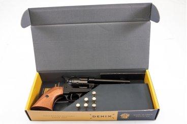 "Kal.45 Peacemaker Revolver 4,75 "", mit 6 Kugeln, USA 1873"
