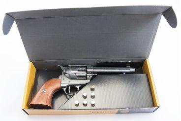 "Revólver Kal.45 Peacemaker 5½ "", mit 6 Kugeln, USA 1873"