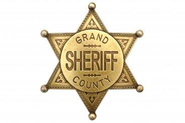Grand County Shefiff Abzeichen