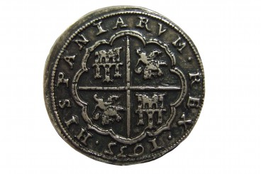 Silver piece of eight