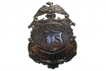 Eagle marshal badge