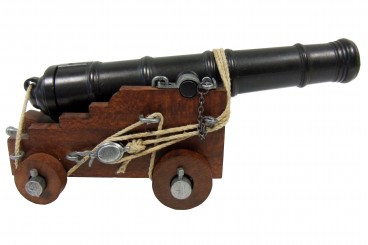 Naval cannon, England 18th. C.