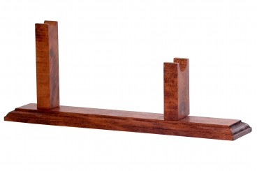 Wooden stand for revolvers