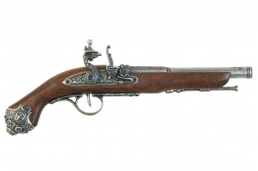 Flintlock pistol, 18th. C.