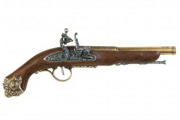 Flintlock pistol, 18th. C.