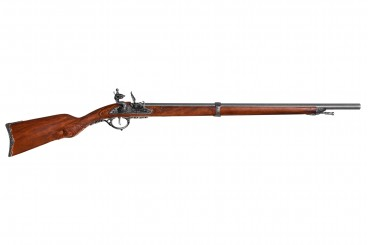 Flintlock rifle, France 1807