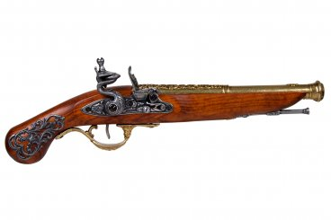 Flintlock pistol, England 18th. C.