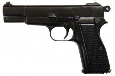HP or GP35 pistol, Belgium 1935