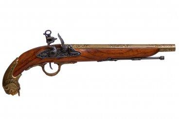Flintlock pistol, Germany 18th. C.