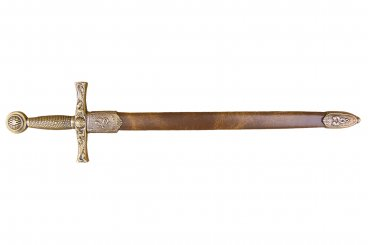 Letter opener Excalibur sword with scabbard