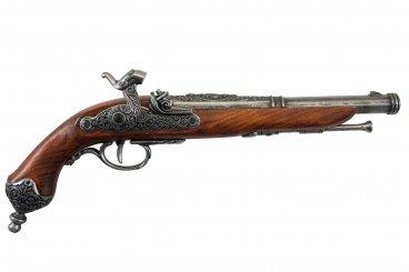 Percussion pistol, Brescia (Italia) 1825