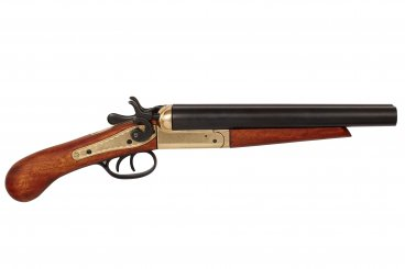Double-barrel pistol, USA 1868