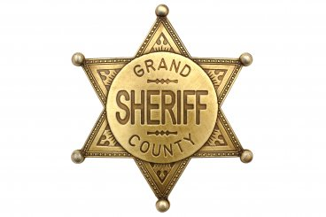 Grand County Shefiff badge
