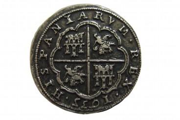 8 Reales de plata