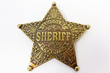 Placa de Sheriff Lincoln County
