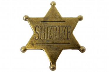 Placa de Sheriff
