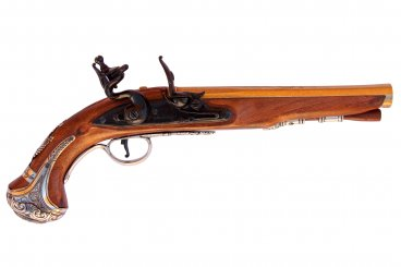 Pistola del general Washington, Inglaterra S.XVIII
