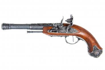 Pistola de chispa (zurda), India S.XVIII.