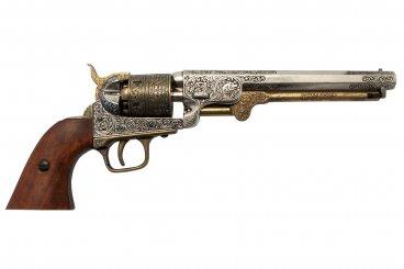 """Revólver """"Navy"""" de la Guerra de Secesión, USA 1851"""