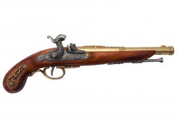 Pistola de percusión, Francia 1832