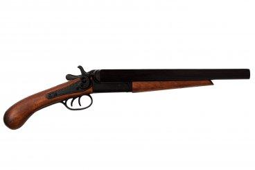 Pistola de 2 cañones recortados, USA 1868