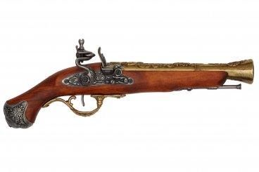 Pistola de chispa, Inglaterra S.XVIII