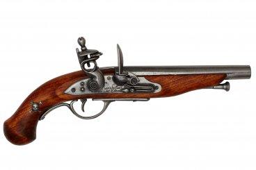 Pistola de chispa pirata, Francia S.XVIII