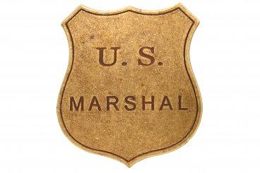 Placa de U.S Marshal