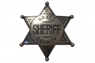 Badge de Sheiff Grand County