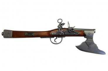 Pistolet-hache, Allemagne S.XVII