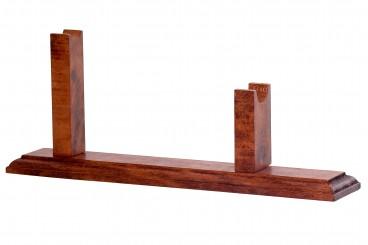 Supporto in legno per revolver