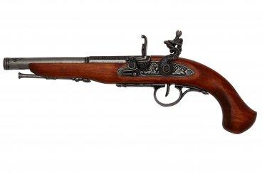 Spark pistol (a sinistra), XVIII secolo.