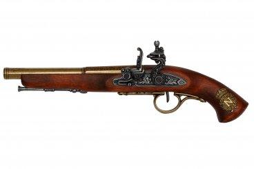 Spark pistol (mancino), Francia del XVIII secolo.