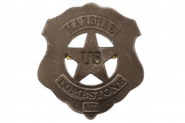U.S Plate Marshal Tombstone