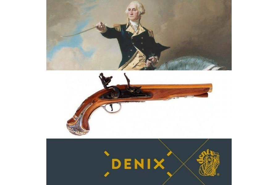 Flintlock pistol, George Washington