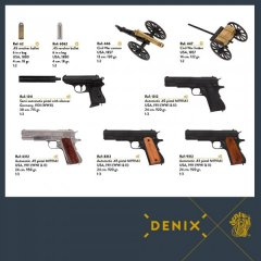 Denix novelties - Sept 2017